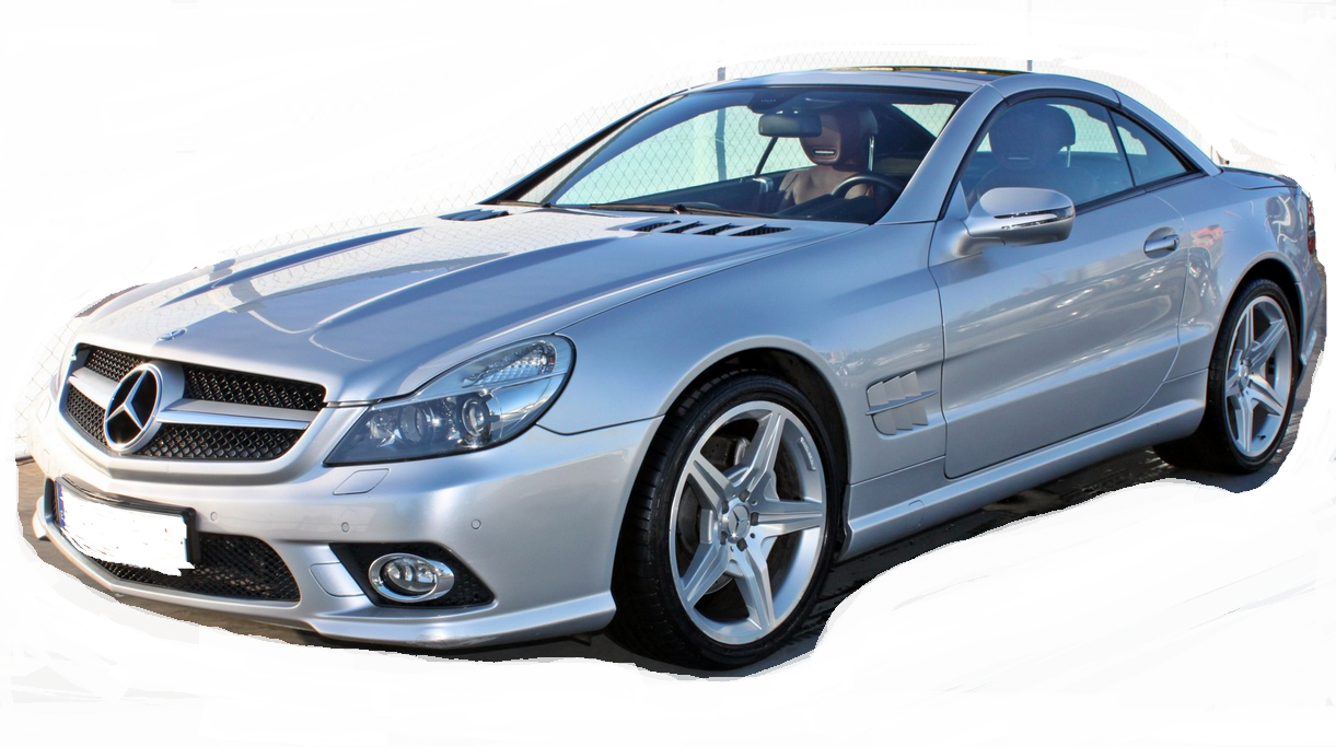 Mercedes benz sl 550 silver arrow edition convertible for Mercedes benz sl convertible for sale