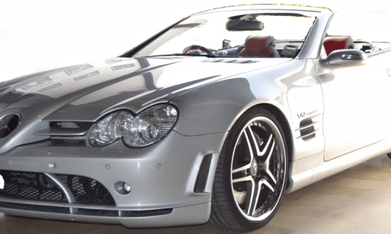 2004 mercedes benz sl65 amg mclaren convertible cars for sale in spain. Black Bedroom Furniture Sets. Home Design Ideas