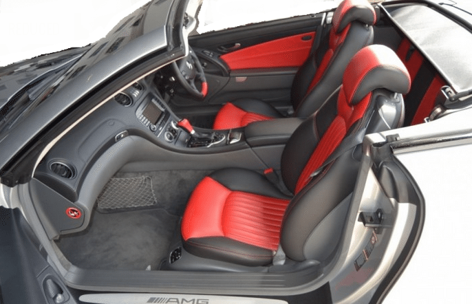 2004 mercedes benz sl65 amg mclaren convertible cars for for Mercedes benz car seat covers sale