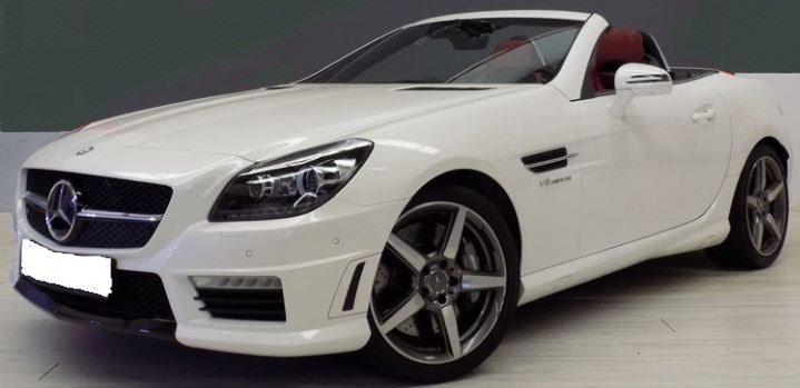 2014 Mercedes Benz Slk55 Amg Cabrio 2 Seater Convertible