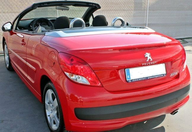 2012 Peugeot 207 Cc 1 6 Hdi Cabriolet 4 Seater Hard Top