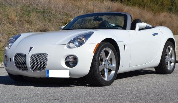 2006 pontiac solstice 2 4 cabriolet 2 seater convertible sports cars for sale in spain. Black Bedroom Furniture Sets. Home Design Ideas