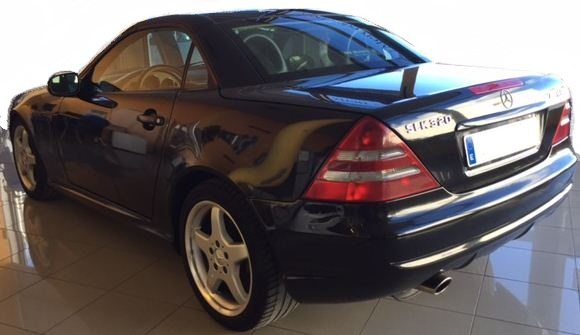 2000 mercedes benz slk320 cabriolet 2 seater convertible for Mercedes benz two seater