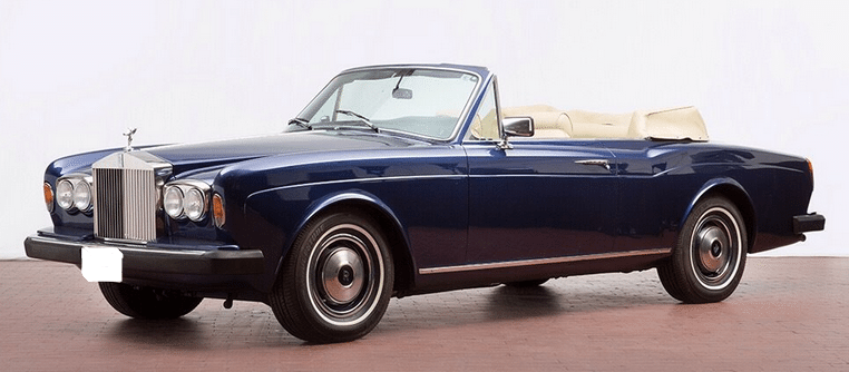 1983 Rolls Royce Corniche II convertible-luxury-car-for-sale-in-Spain