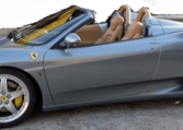 2004 Ferrari 360 Spider F1 convertible sports car for sale in Spain
