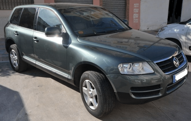 2004 volkswagen touareg r5 tdi automatic 4x4 cars for sale in spain. Black Bedroom Furniture Sets. Home Design Ideas