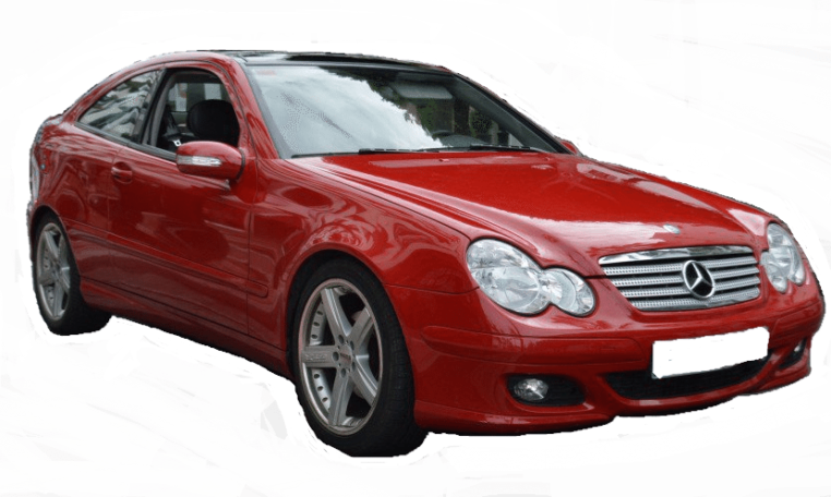 2005 Mercedes Benz C220 CDi coupe for sale in Spain