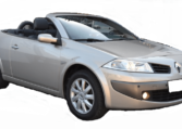 2006 Renault Megane 1.6 Cabrio convertible automatic car for sale in Spain