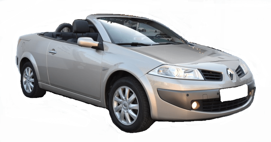 2006 renault megane 1 6 cabrio automatic convertible car. Black Bedroom Furniture Sets. Home Design Ideas