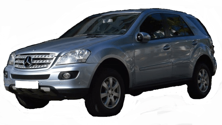 2007 Mercedes Benz ML320 CDi 4matic automatic 4x4 for sale in Spain