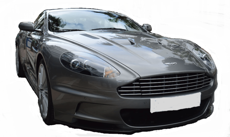 2008 Aston Martin DBS Coupe sports car for sale in Spain
