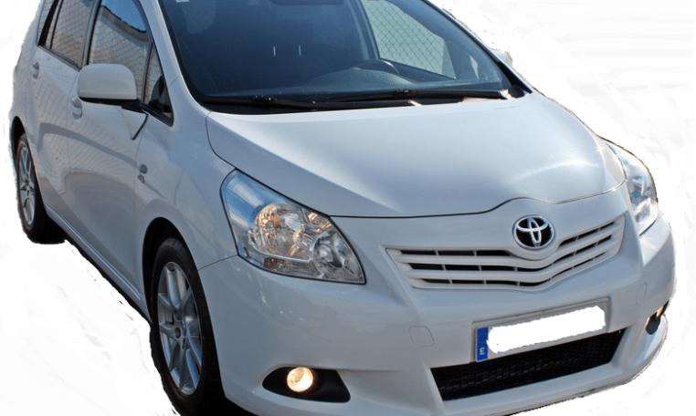 2009 Toyota Verso 2.2D diesel automatic 5 door hatchback for sale in Spain Costa del Sol