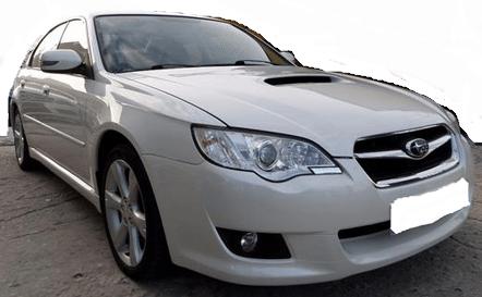 2010 Subaru Legacy 2.0D 4WD 4 door saloon car for sale in Spain Costa del Sol