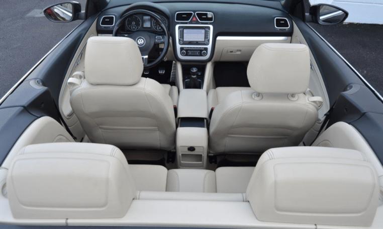 2010 Volkswagen EOS Convertible for sale in Spain interior