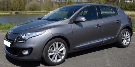 2013 Renault Megane 1.5 dCi diesel 5 door hatchback for sale in Spain