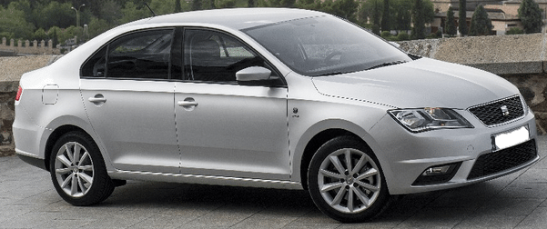 2013 Seat Toledo 1.6 TDi diesel 4 door saloon car for sale in Spain Costa del Sol