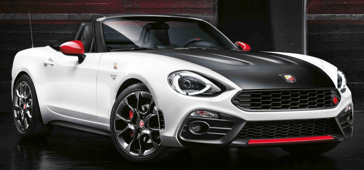 new fiat abarth 124 spider convertible sports cars for sale in spain. Black Bedroom Furniture Sets. Home Design Ideas