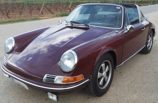1971 Porsche 911 T Carrera 2.2 Targa convertible sports car for sale in Spain Costa del Sol