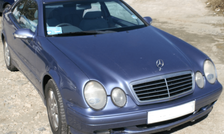 2001 Mercedes Benz CLK320 automatic 2 door coupe for sale in Spain Costa del Sol Marbella