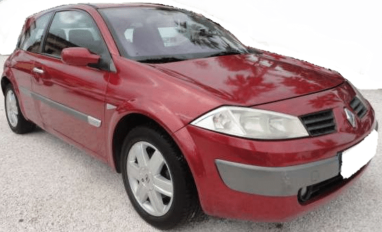 2002 Renault Megane 1.9 DCi diesel 3 door hatchback for sale in Spain Costa del Sol
