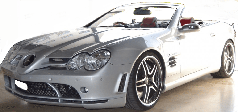 2004 Mercedes Benz Sl65 Amg Mclaren Convertible Cars For