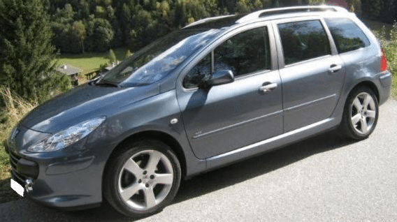 2007 Peugeot 307 SW 2.0 HDi automatic 7 seater estate - Cars for ...