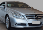 2009 Mercedes Benz E350 CDi automatic coupe for sale in Spain Costa del Sol Marbella Mijas Malaga