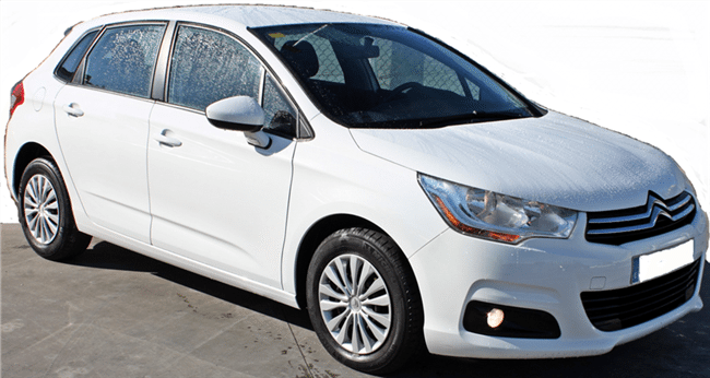 2011 Citroen C4 1.6 HDi Business diesel 5 door hatchback car for sale in Spain Costa del Sol Malaga