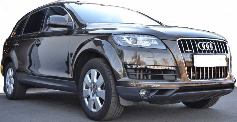 2012 audi q7 3 0 tdi quattro automatic 7 seater 4x4 cars for sale in spain. Black Bedroom Furniture Sets. Home Design Ideas