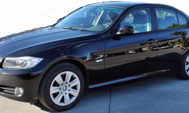 2012 BMW 318d 4 door saloon car for sale in Spain Costa del Sol