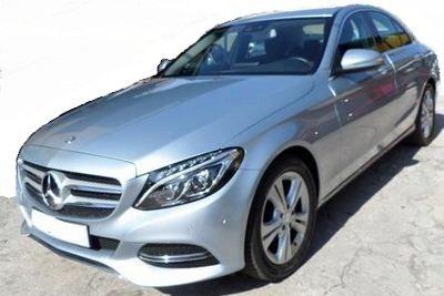 2014 Mercedes Benz C220 CDi Avantgarde diesel automatic 4 door saloon car for sale in Spain Costa del Sol Marbella Malaga