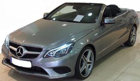 2014 Mercedes Benz E220 CDi diesel cabrio luxury automatic convertible sports car for sale in Spain Costa del Sol Marbella Malaga