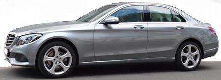 2014 Mercedes Benz C220 Bluetec diesel automatic 4 door saloon car for sale in Spain Costa del Sol Marbella Mijas Malaga