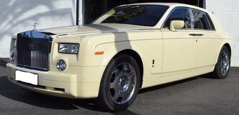 2006 Rolls Royce Phantom V12 Chardonnay luxury automatic saloon car for sale in Spain Costa del Sol Marbella Mijas Fuengirola Benalmadena Malaga