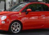 2008 Fiat 500 Ferrari for dealers limited edition coupe for sale in Spain Costa del Sol Marbella Malaga