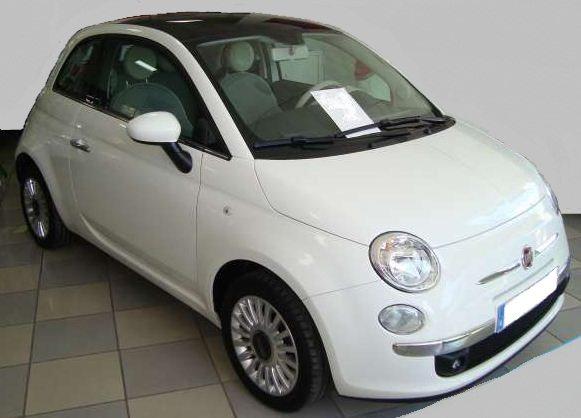 2012 Fiat 500 1.2 Lounge 2 door coupe for sale in Spain Costa del Sol Marbella Mijas Malaga