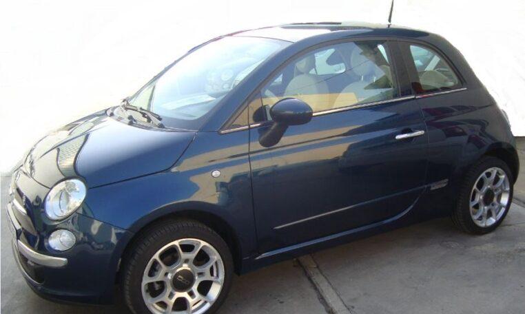 2015 Fiat 500 1.2 Lounge 2 door coupe car for sale in Spain Costa del Sol Marbella Malaga