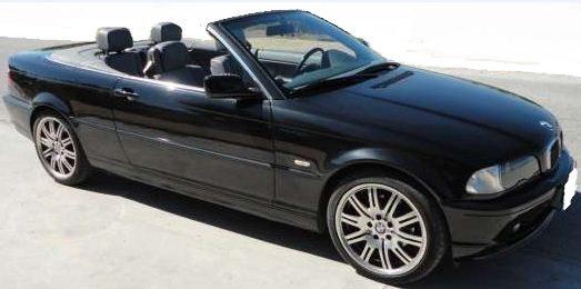 2001 BMW 320Ci cabriolet convertible sports car for sale in Spain Costa del Sol Marbella Mijas Malaga