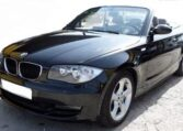 2008 BMW 125i A cabriolet automatic 2 door convertible car for sale in Spain Costa del Sol Marbella Mijas Malaga
