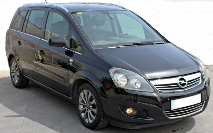 2010 Opel Zafira 1.9 CDTi diesel 7 seater mpv car for sale in Spain Costa del Sol Marbella Fuengirola Malaga