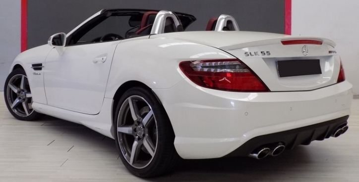 2014 Mercedes Benz SLK55 AMG Cabrio 2 Seater Convertible Sports   Cars For  Sale In Spain