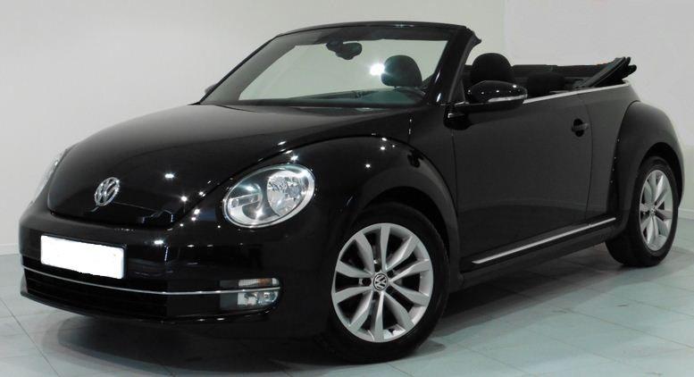 volkswagen beetle cabrio  tdi design convertible cars  sale  spain