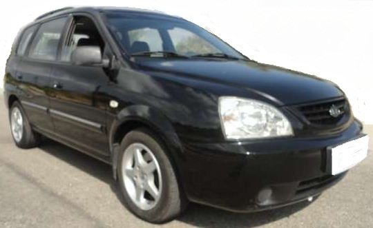 2006 Kia Carens 2.0 CRDi LX 5 door MPV for sale in Spain Costa del Sol Mijas Malaga