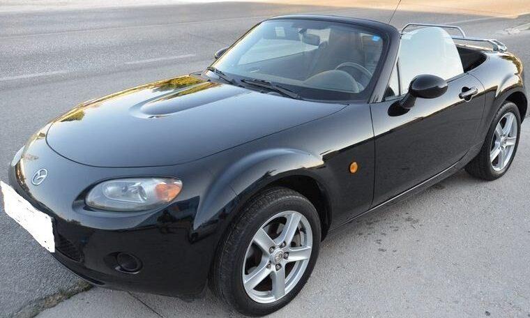 2007 Mazda MX5 1.8 cabriolet 2 seater convertible sports car for sale in Spain Costa del Sol Marbella Mijas Costa Malaga