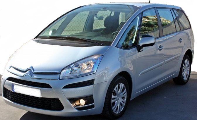 2012 citroen c4 grand picasso 1 6 hdi 7 seater mpv cars for sale in spain. Black Bedroom Furniture Sets. Home Design Ideas