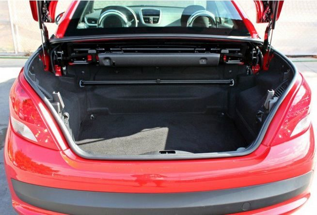 2012 Peugeot 207 CC 1.6 HDi cabriolet 4 seater hard top convertible ...