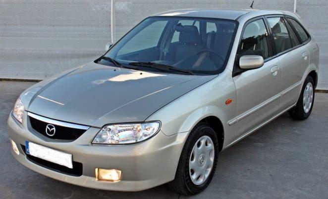 2002 mazda 323 f 1 6 automatic 5 door hatchback cars for. Black Bedroom Furniture Sets. Home Design Ideas