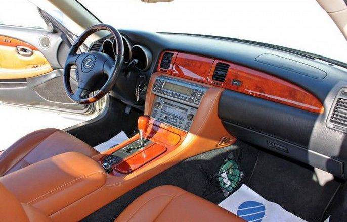 2003 Lexus Sc 430 Automatic Luxury Convertible Sports Cars For In Spain