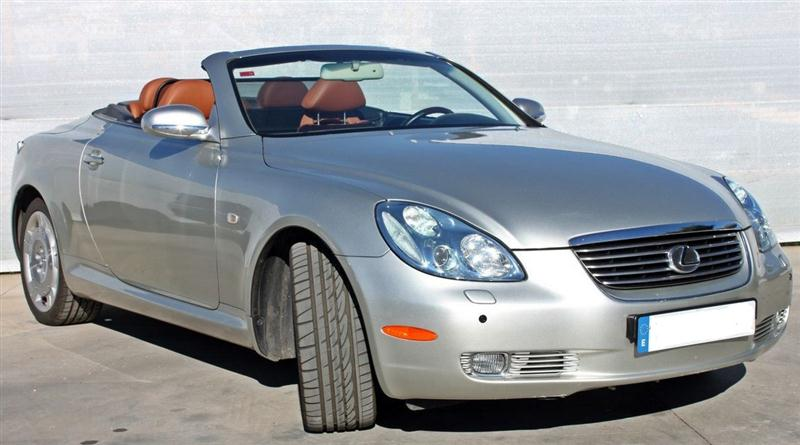2003 lexus sc 430 automatic luxury convertible sports cars for sale in spain. Black Bedroom Furniture Sets. Home Design Ideas