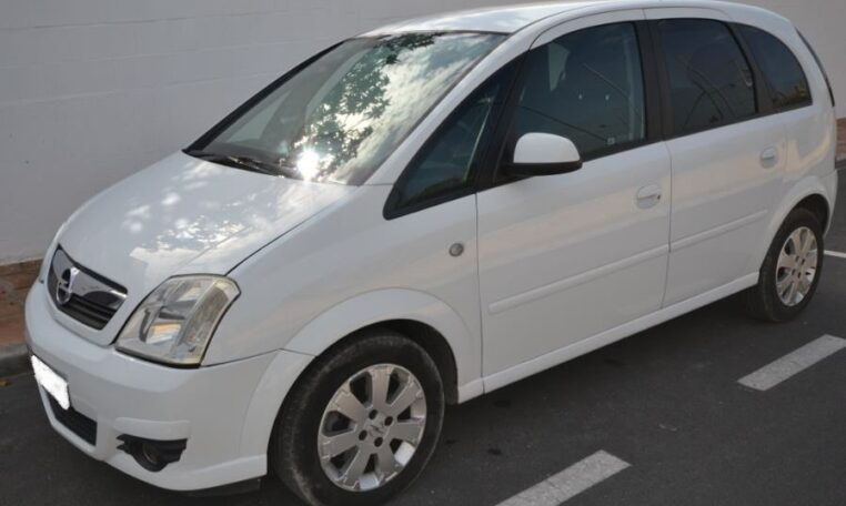 2006 Opel Meriva 1.6 Easytronic automatic 5 door hatchback car for sale in Spain Costa del Sol Marbella Mijas Costa Malaga